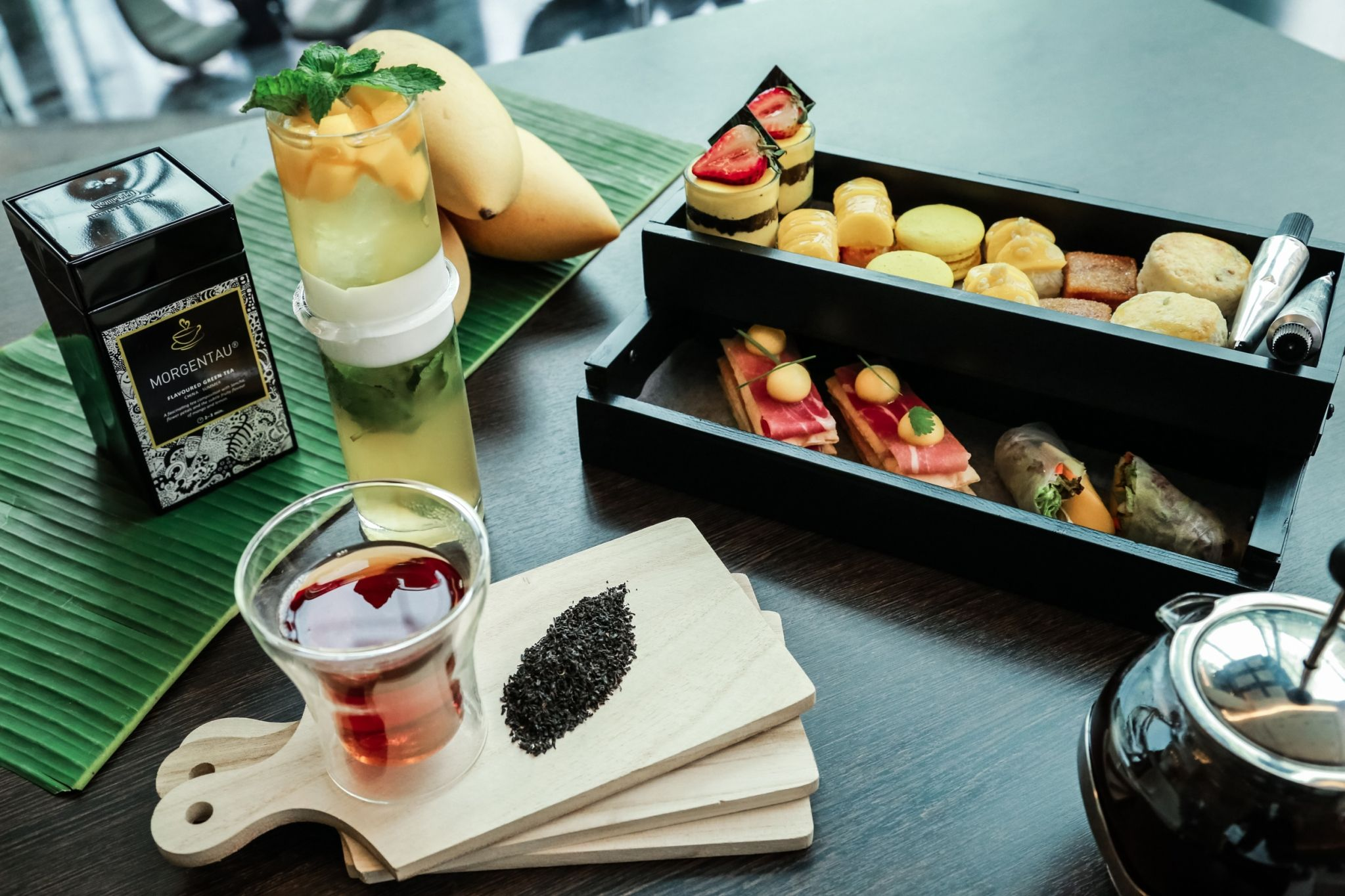 """Mango Mystique"" Afternoon Tea Treat + SPA Moment"